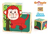 Orapple by R for Rabbit - Safari Cube Puzzles for Kids for Learning