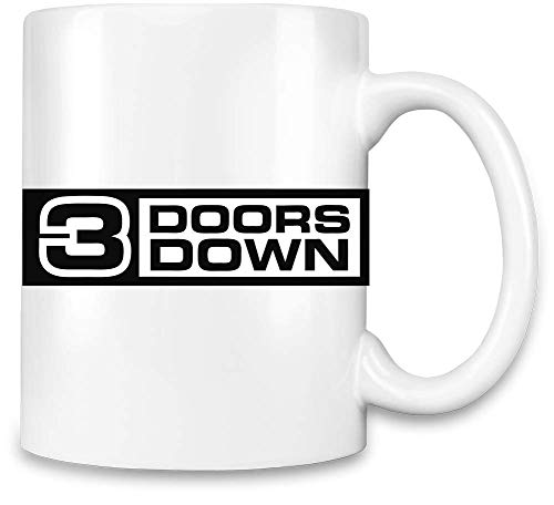 3 Doors Down 3 Türen unten Logo Logo Unique Coffee Mug | 11Oz Ceramic Cup| The Best Way to Surprise Everyone On Your Special Day| Custom Mugs by - Logo Unten