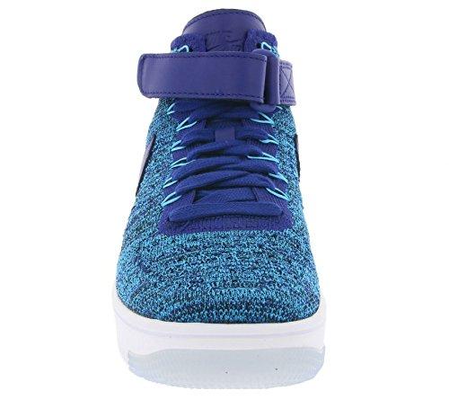 Nike Damen W AF1 Flyknit Turnschuhe Azul (Blue Lagoon / Deep Royal Blue)