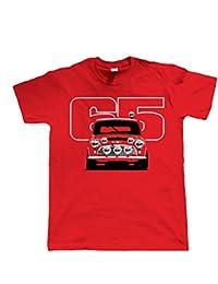 Vectorbomb, Cooper S 65 Voiture De Rallye, T-Shirt Pour Hommes