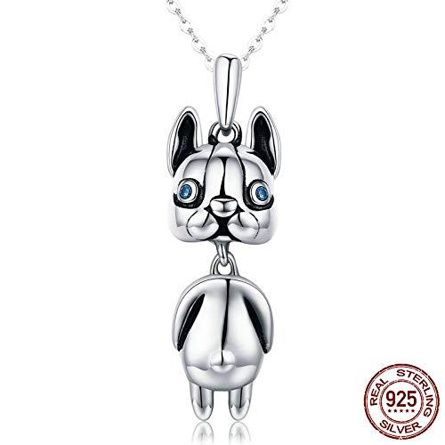 LIUSHUGUANG 925 Sterling Silber Anhänger Halskette Für Frauen Modemarke Schmuck Großhandel Halsketten Geschenk,Silber (Großhandel Schmuck Kaufen)