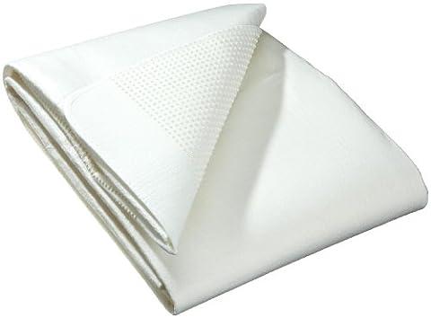 Biberna 809504/001/144 Isolateur de sommier anti-dérapant, pour sommier à lattes, isolant et respirant, pour lit de 140x200 cm à 160x200 cm, coloris blanc