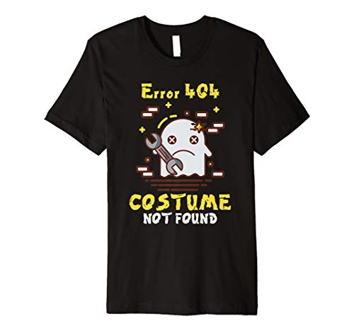 Fehler 404 Kostüm nicht gefunden Easy Halloween Ghost TShirt