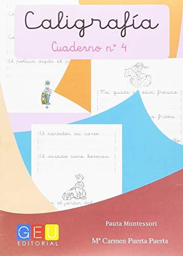 Caligrafía con Pauta Montessori - Cuaderno 4