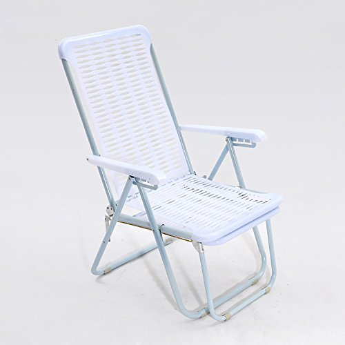 QRFDIAN Freizeit Stuhl Mittagspause Stuhl Freizeit Stuhl Klappstuhl Klappstuhl Kunststoff Strandkorb...