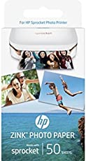 HP Zink 50SH AP2 Gls Adh Photo Paper (Pack of 50)