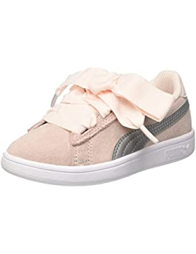 Puma Smash V2 Ribbon AC PS, Zapatillas Unisex Niños