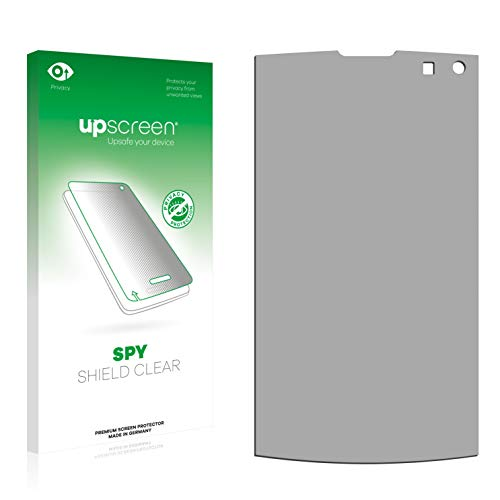 upscreen Anti-Spy Blickschutzfolie kompatibel mit LG Electronics GC900 Viewty Smart Privacy Screen Displayschutzfolie - Sichtschutz, Kratzfest Viewty Smart Screen