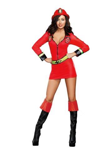 Dreamgirl - pompiere del costume delle donne, taglia M (D9445M)