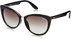 IDEE Gradient Cat Eye Womens Sunglasses - (IDS2172C1SG|57|Green Gradient Color)
