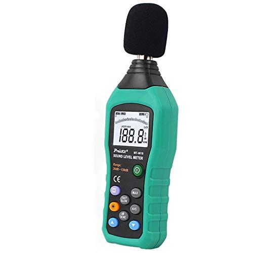 Xxw lamp Hochpräzise LCD-Digital-Hintergrundbeleuchtung Geräuschmesser Schallpegelmesser Dezibel Meter Umweltgeräusche Test Tester