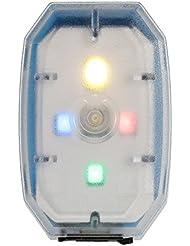 Docooler Mini luz de Bicicleta Luz Recargable de la Bicicleta del USB Recargable de la Bicicleta Luz de Advertencia de la Luz Trasera del LED