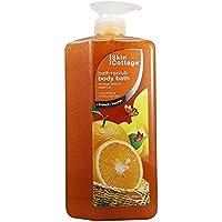 Skin Cottage Body Bath Scrub Orange Peach Essence 1000ml