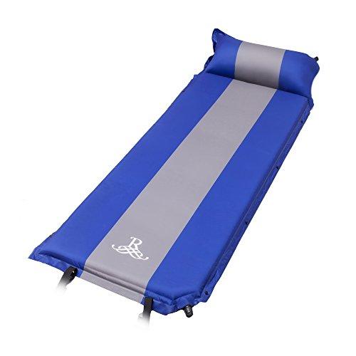 BELLAMORE GIFT Selbstaufblasbare Isomatte Luftmatratze für Outdoor Camping, Wandern, Reise, Trekking, Wasserdicht, Sleeping 192 x 60 x5cm