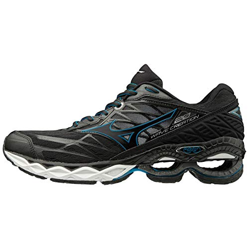 Mizuno Scarpa Running Wave Creation 20 Uomo (42 EU, 09 - Black/Black/Blue)