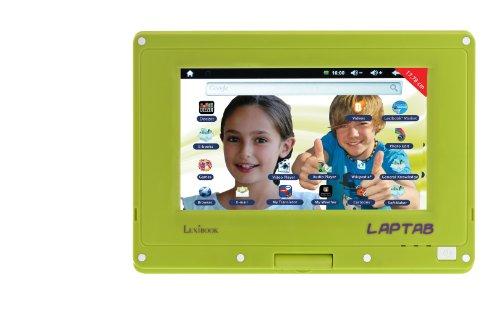 Lexibook–MFC140EN–Taktile und Rotary Bildschirm EN Version Lap Tab 12,7cm Android Spiel Tablet