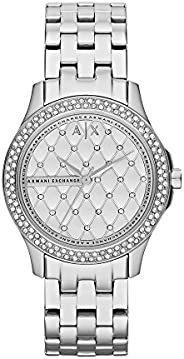 Armani Exchange Womens Quartz Watch, Analog Display and Stainless Steel Strap AX5215