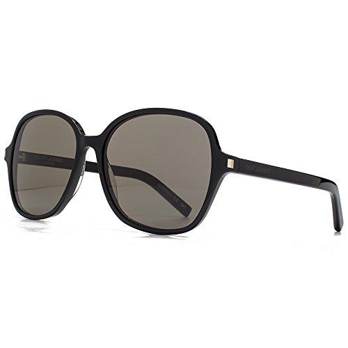 Saint Laurent Lunettes de 8 soleil classiques en noir CLASSIC 8 002 57 57  Grey 0b44eba4d1e