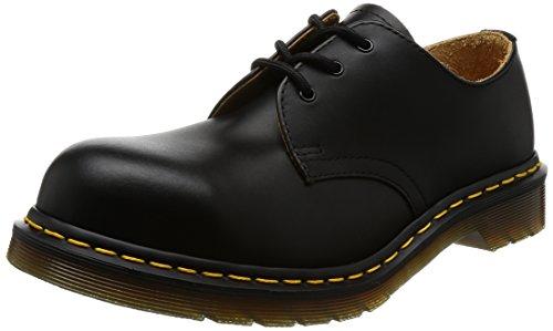 Dr. martens original 1925 5400 10111001 , scarpe stringate basse unisex adulto, nero (schwarz (schwarz)), 43