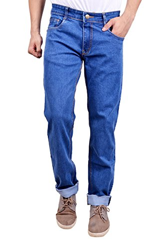 Studio Nexx Men's Denim Regular Fit Jeans (Blue, Size - 34)  available at amazon for Rs.729