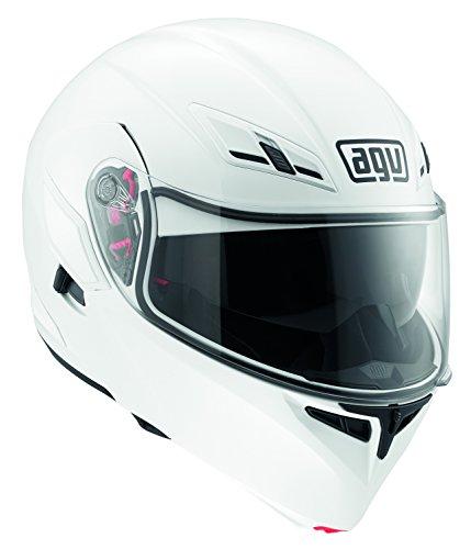 AGV Casco Compact E2205 Multi, color Blanco, talla 4