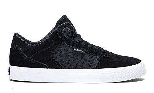 SUPRA Skateboard Shoes ELLINGTON VULC BLACK-WHITE Noir