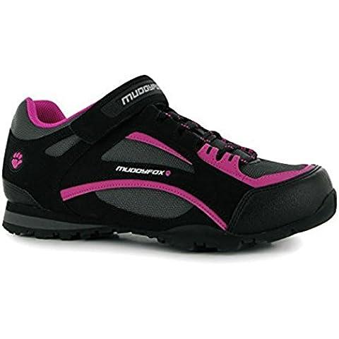 Muddyfox - Zapatillas de ciclismo para mujer