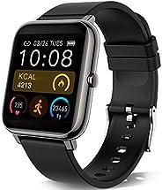 KALINCO Smartwatch,Smartwatch Uomo con Cardiofrequenzimetro,Orologio da Donna per Il Sonno Calorico Smartwatch