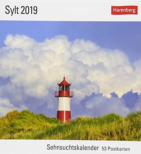 Sylt 2019: Sehnsuchtskalender, 53 Postkarten por Siegfried Layda
