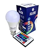 PickTheDeal 7W RGBW LED Bulb/Lamp 16 Color with Remote (Multi Colour Options)