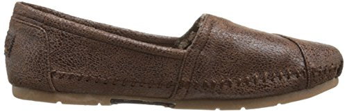 Bobs Da Skechers Luxe Moda Slip-On piano Chocolate Suede