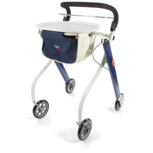Trust Care Indoor Rollator Let\'s Go blau weiß