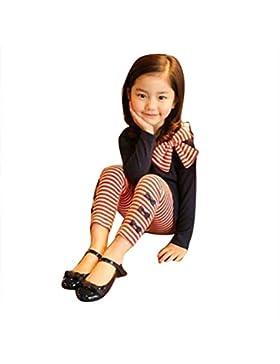[Patrocinado]Conjuntos de ropa de invierno,RETUROM Niña de otoño de manga larga bowknot camiseta + pantalón de rayas conjunto