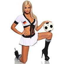 sexy Frauen in Fußballtrikots