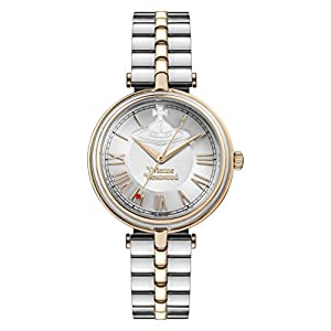 Vivienne Westwood Womens Analogue Classic Quartz Watch with Stainless Steel Strap VV168RSSL