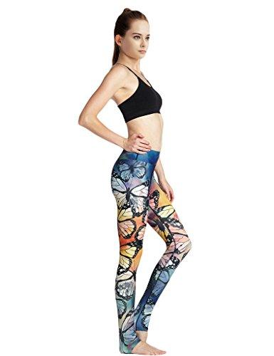 JIMMY DESIGN Yoga Strumpfhosen Stretch Leggings - 2