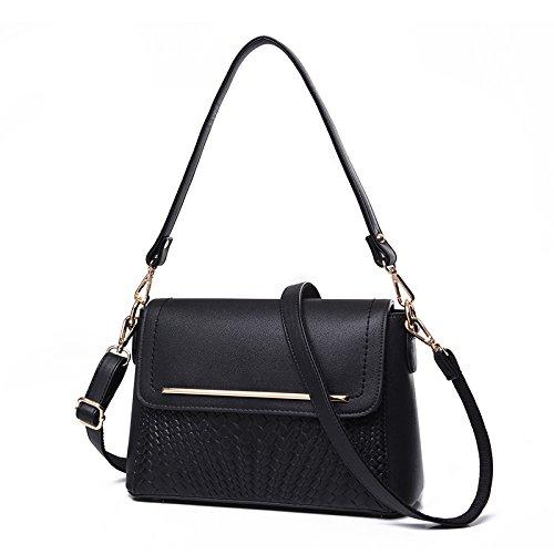 Syknb Kleine Tragbare Mode Umhängetasche Beutel Tasche Black