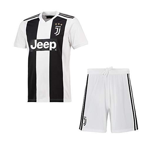 Maglia da calcio 2018-2019 (per la casa e la trasferta) personalizzata con qualsiasi nome e numero, kit da calcio personalizzati per ragazzi