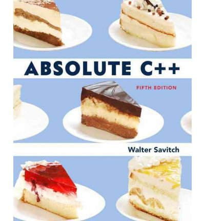 [(Absolute C++ )] [Author: Walter J. Savitch] [Mar-2012]