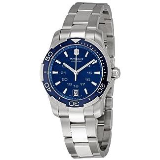 Victorinox 241307 – Reloj de Pulsera Mujer, Acero Inoxidable, Color Plata