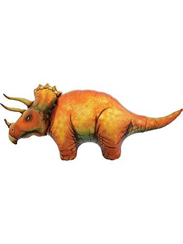 Dinosaurio Triceratops gigante globo de papel de aluminio (vendido desinflado)