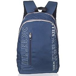 KILLER Polyester 25 Ltr Navy Blue Laptop Backpack