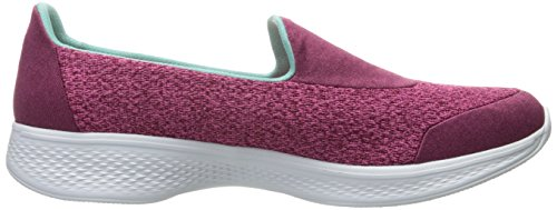 Skechers Go Walk 4-Pursuit, Allenatori Donna Rosa (ros)