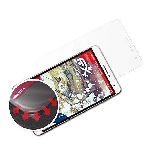atFolix Schutzfolie passend für Huawei MediaPad T2 7.0 Pro Folie, entspiegelnde & Flexible FX Bildschirmschutzfolie (2X)