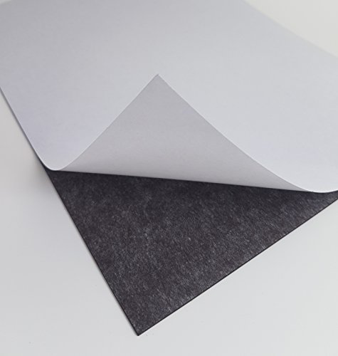 10 x selbstklebende Magnetfolie DIN A4