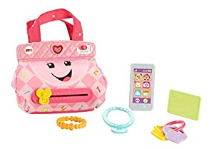 Fisher-Price FPM43 Laugh and Learn Smart Stages - Monedero (inglés y francés)
