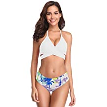 f777090e24e2 bikinis natacion - Blanco - Amazon.es
