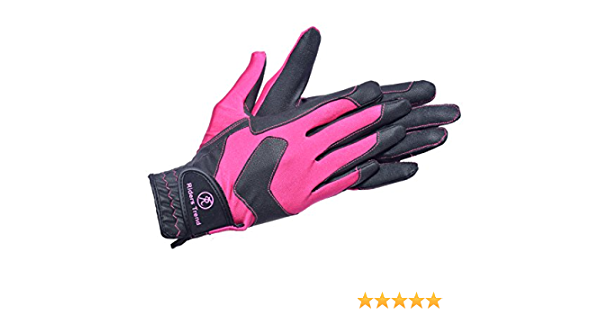 Details about  /Women Equistrian Grip Horse Riding Gloves Running Leather Driving Cycling Mitts