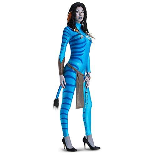 Erwachsenen-Kostüm Avatar Neytiri - Größe M