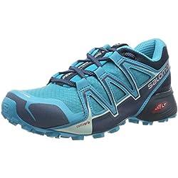 Salomon Speedcross Vario 2, Zapatillas de Trail Running para Mujer, Azul (Bluebird/Reflecting Pond/Mallard Blue), 36 EU